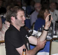 Photo: VFP-UK member Ben Griffin films his comrade Jim Radford