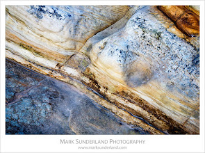 Photo: Rock Detail at Doo Craigs  Back to processing images from my recent trip to Fife this morning. I don't seem to have posted enough landscape recently, so here's a little rock detail from Doo Craigs in St Andrews taken at dusk on the first evening of my trip...  Canon EOS 5D, EF24-105mm f/4L IS USM at 58mm, ISO 100, 3.2s at f16