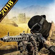 Desert Storm Gunship Gunner Battlefield: fps games
