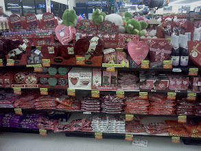 Photo: This is just one side of a display of the Valentines display. I love that there is so much variety.