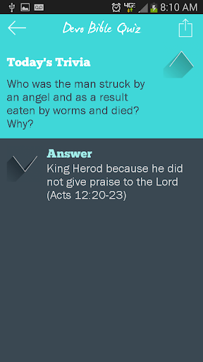 Devo Bible Quiz screenshots 4
