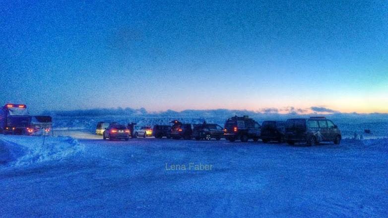 Photo: At the Nordkapp