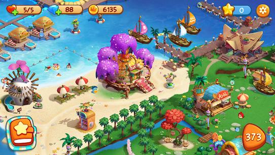 Angry Birds Blast Island Apk Mod Muitos Movimentos 5