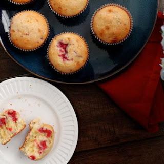Raspberry Lemon Curd Muffins