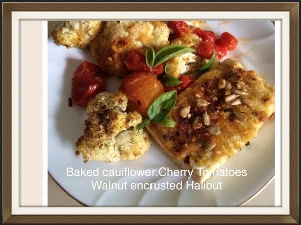 Walnut Crusted Halibut Recipe