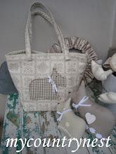 Photo: borsa da spalla con scottish terrier appliqué