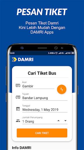 DAMRI Apps Apk 1