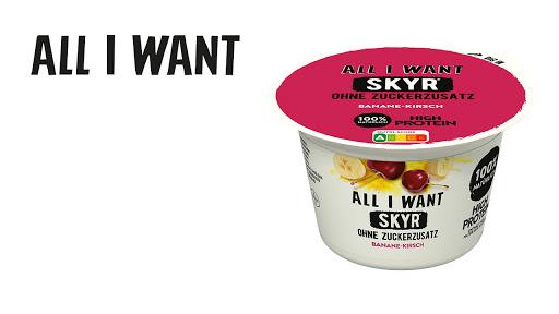Bild für Cashback-Angebot: ALL I WANT Skyr Banane-Kirsch - All I Want