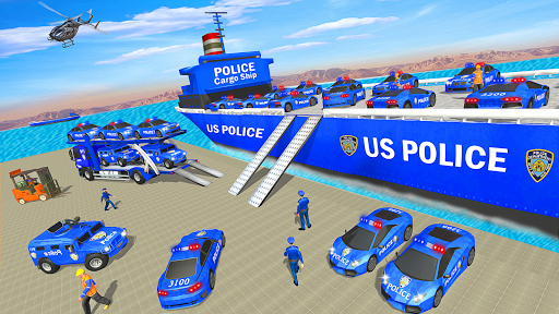 Grand Police Transport Truck screenshot 7