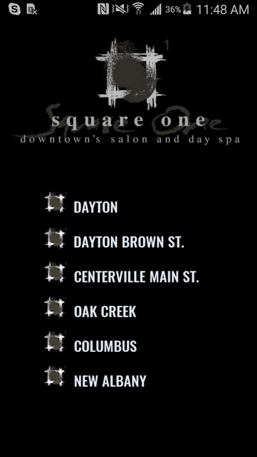 Square One Salon- screenshot