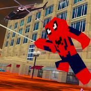 Spider Hero: Lava Floor