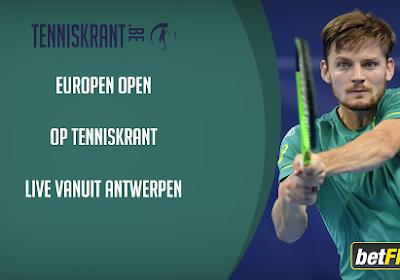 Goffin krijgt stevige concurrentie op European Open in Antwerpen