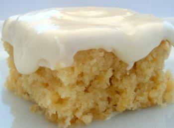 Pineapple Cream Cheese Cake Recipe