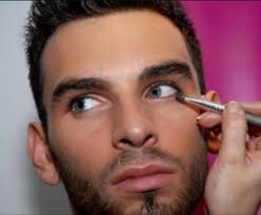 man makeup - náhled