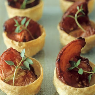 Tomato Pastry Cups.