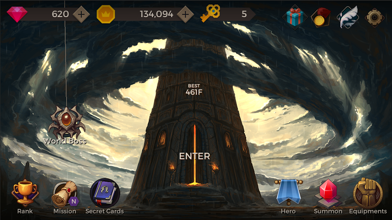 Secret Tower: 500F Online RPG v52 [Mod]