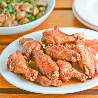 Adobo Fried Chicken Wings.