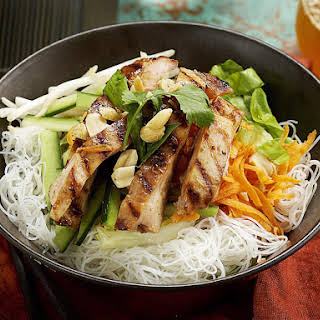 Chicken with Vietnamese Noodles.