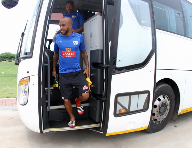 Bafana Bafana and Mamelodi Sundowns' midfielder Oupa Manyisa.