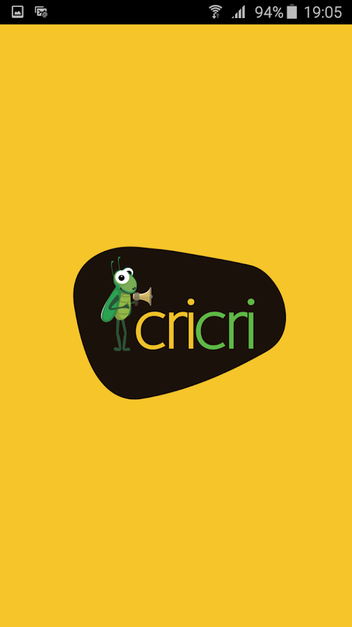 Cricri- screenshot