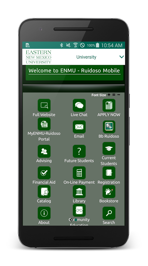 ENMU Ruidoso- screenshot