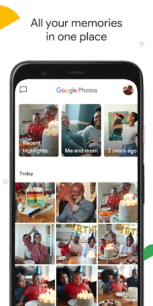 Google Photos Android App Screenshot