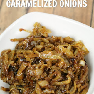 Beer Caramelized Onions.