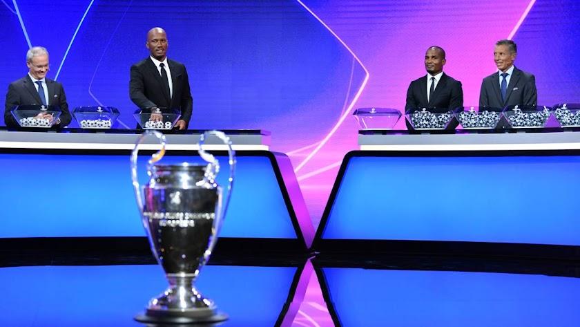 Sorteo de la Champions League 2020-2021.