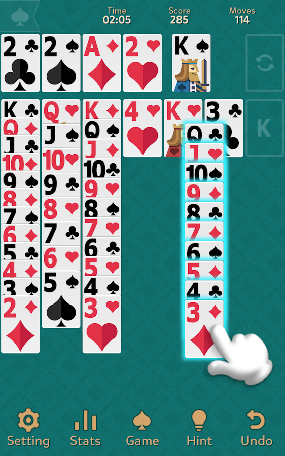 Klondike Solitaire: Kingdom- screenshot