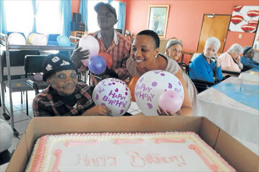 VENERABLE: Nolem Matabese Ramuso, who is a loving grandmother to 29 and great-grandmother to 12, turned 114 at the weekendPicture: ATHENA OREILLY