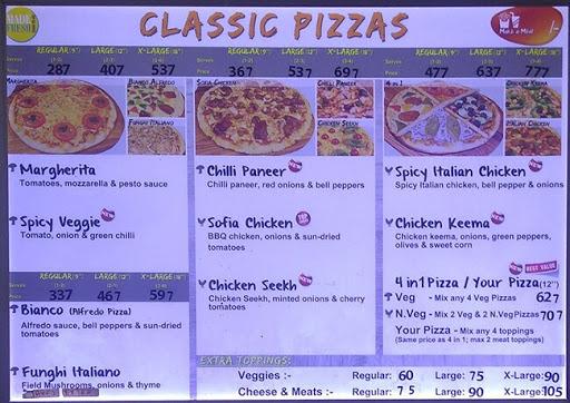 Pizzoccheri menu 4