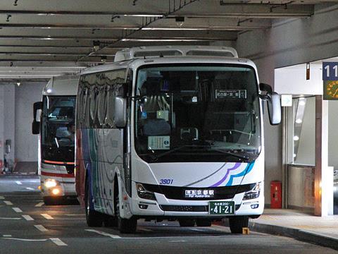 名鉄バス 「名神ハイウェイバス京都線」 3901_102 名鉄バスセンター待機中