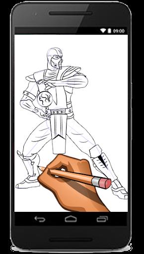 collection image wallpaper: Mortal Kombat Drawings