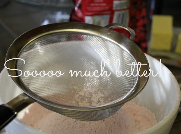 In a standing mixer fitted with a whisk, cream butter for about 40 seconds....