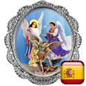 Holy Rosary of Saint Michael in Spanish icon