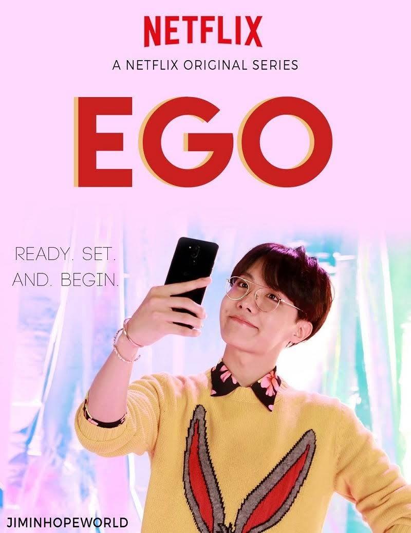 J-Hope Outro Ego fan art