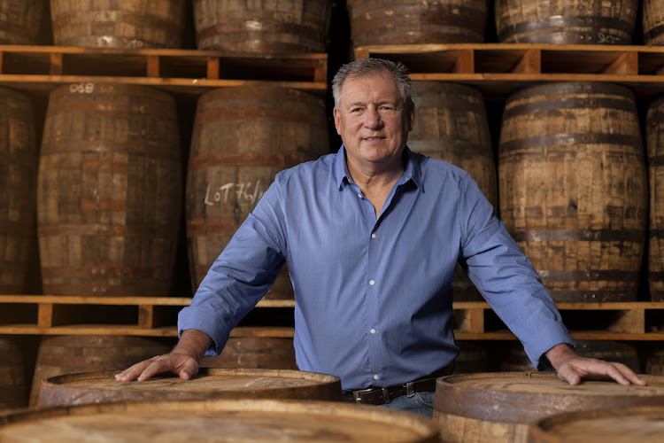 Multi-award winning master distiller Andy Watts. Picture: SUPPLIED/THREE SHIPS WHISKY