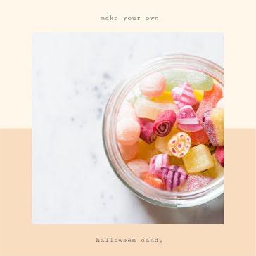 DIY Halloween Candy - Halloween Template