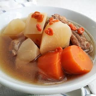 Daikon Radish Soup Recipes.