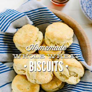 Homemade Whole Wheat Biscuits