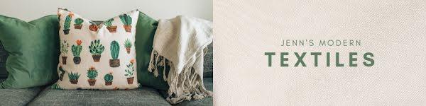 Jenn's Modern Textiles - Etsy Shop Big Banner Template