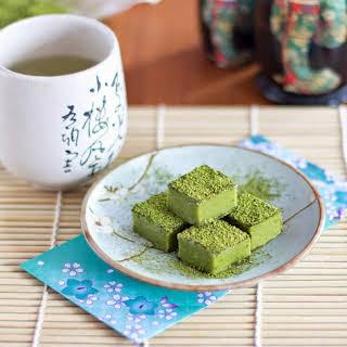 Green Tea Nama Chocolate.