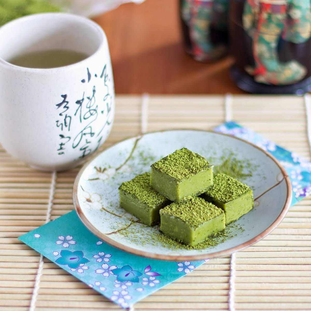 Green Tea Nama Chocolate