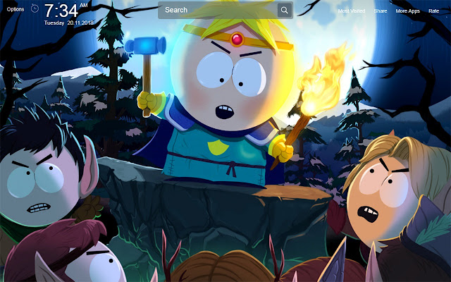 South Park Wallpapers New Tab Theme