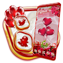 Red Rose Love Launcher Theme icon
