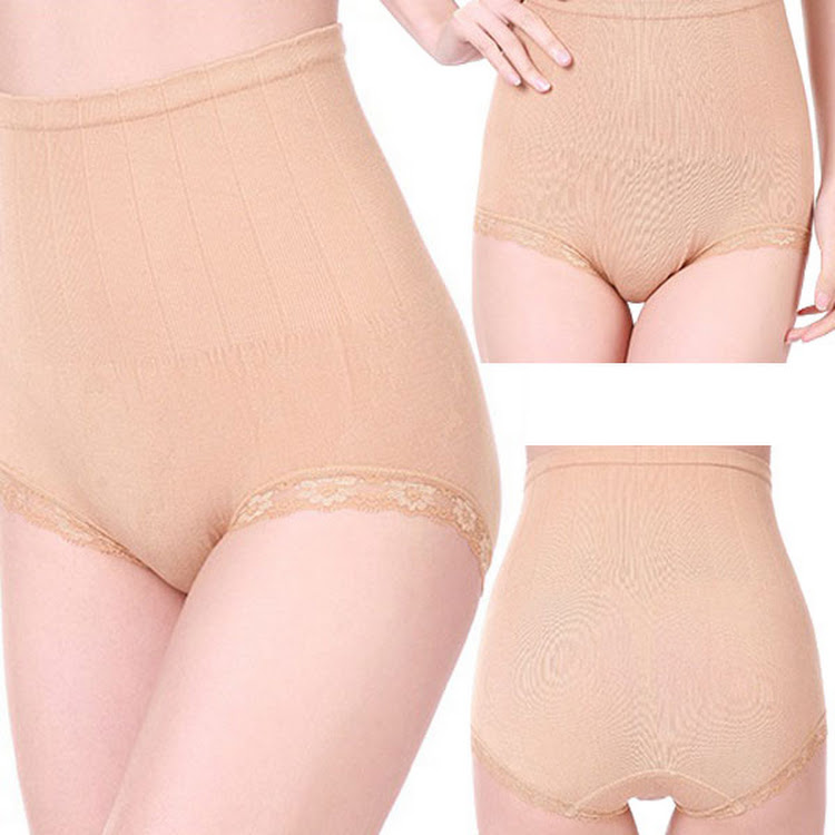 Munafie instant sliming highwaist sliming shaping panty (NUDE) by Supermodels Secrets