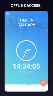 Time in Calgary, Canada - náhled