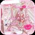 Theme Pink Paris Eiffel Tower