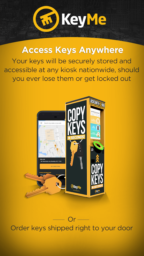 KeyMe: Copy, Save, Share Keys- screenshot
