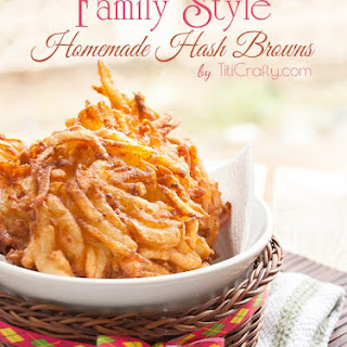 Family Style Homemade Hash Browns